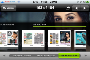 PressReader iPhone App
