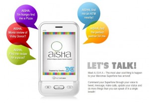 Meet AISHA – Desi Siri From Micromax India Mobile