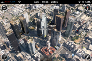 Google Released 3D Maps To iOS Before Apple Maps
