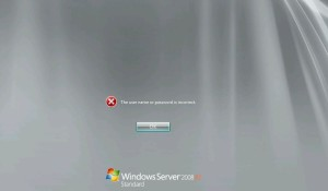 How To Reset Domain Admin Password on Windows Server 2008 R2