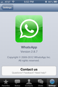 WhatsApp - iPhone